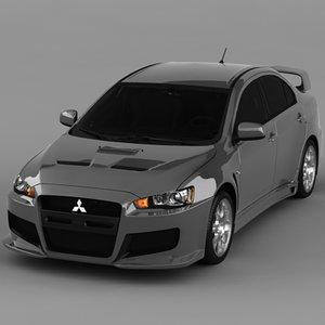 evo 3d model