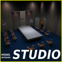 Studio TV Showroom Catwalk