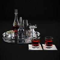 3d model of tableware -