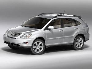3d model lexus rx300 2006 2008