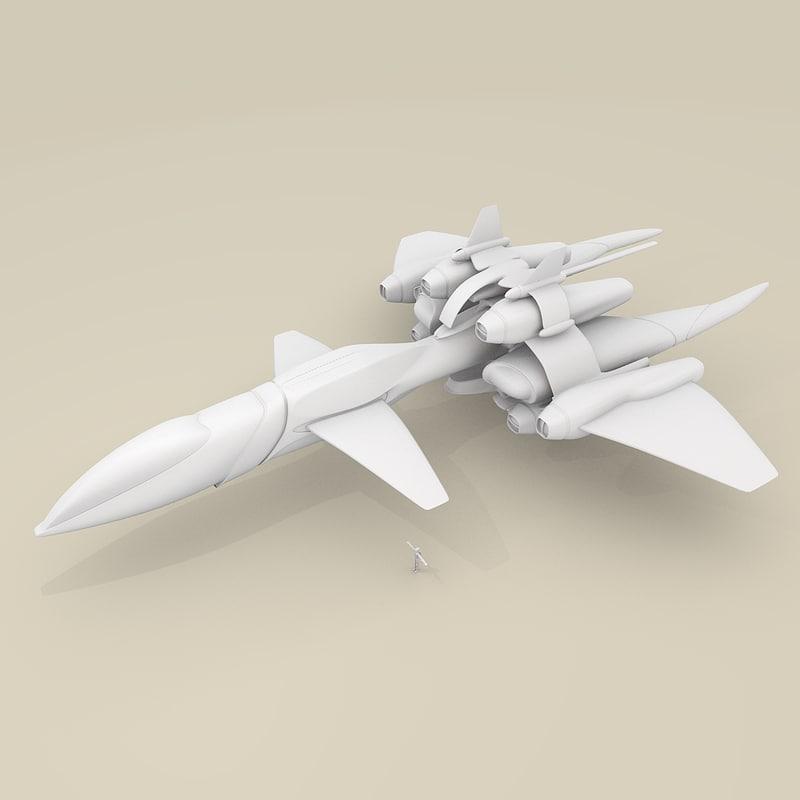 free blend model fighter