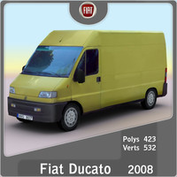 3d 2008 fiat ducato model