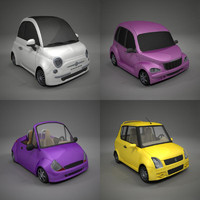 3ds max toon car