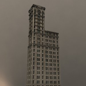 3d model skyscraper new york