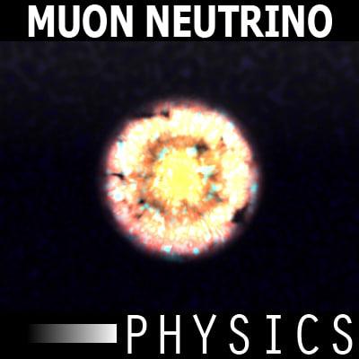 3ds max muon neutrino physics