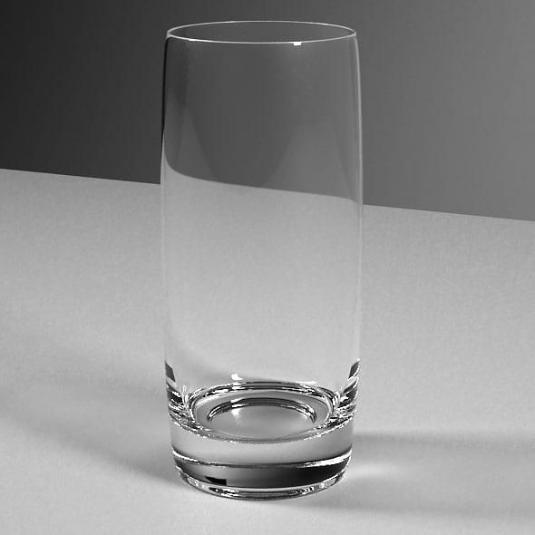 3d glass ball model
