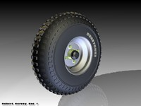 road tyre 3ds