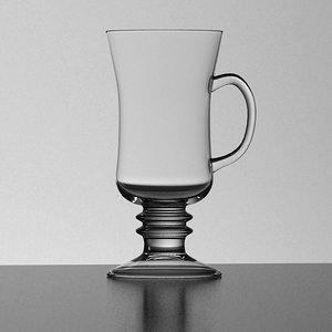 irish coffee mug 3d model