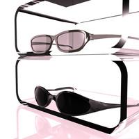 3d glasses sun designed