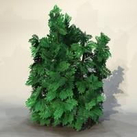 3ds max pc bush