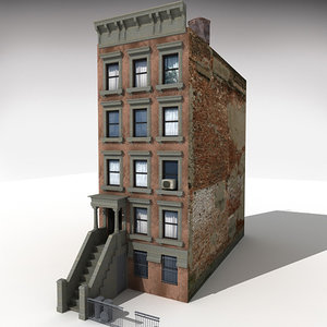 3ds max downtown building