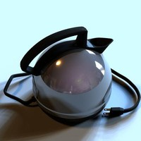 3d model electric kettle