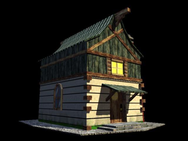 3d model ready house