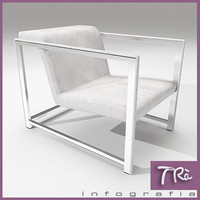 living room armchair ego 3d max