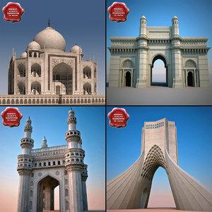 3d model landmarks v1