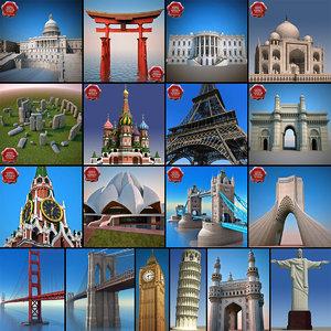 landmarks v8 3d max