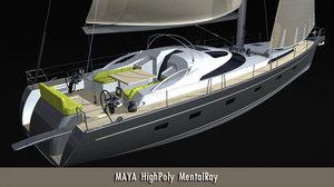 maya open details 60 modelled
