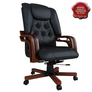 3d office chair v6 model