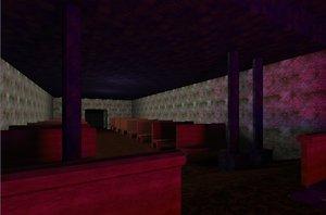 3ds max church evil b3d