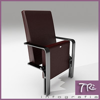 theater armchair 3d max