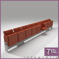 3d theater armchair mutaflex model