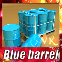 3ds blue barrel pallet resolution