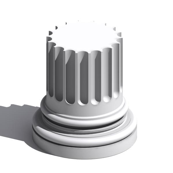 3d column base