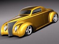 max 1937 antique streetrod custom