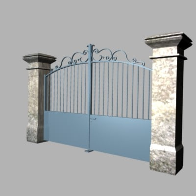 chic gate 3d 3ds