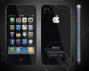 white iphone 3d 3ds