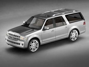 3d model navigator 2007 suv