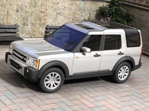 land rover discovery landrover 3d 3ds