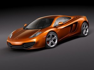 mc laren mclaren mp4 3d 3ds