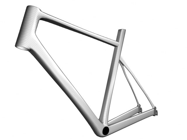 3d bicycle frame
