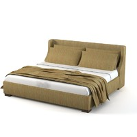 Modern contemporary traditional double bed