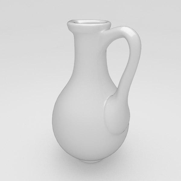 3d oil bottle