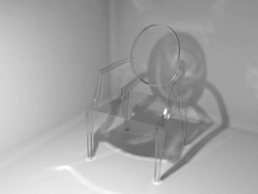 louis ghost chair max