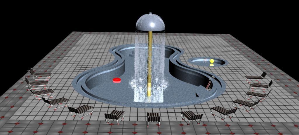 swimming pool 1 3d max