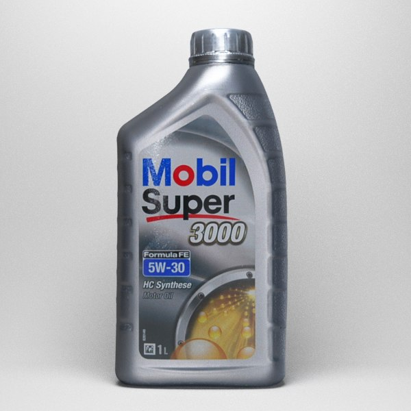 3d 3ds mobil super 3000 bottle