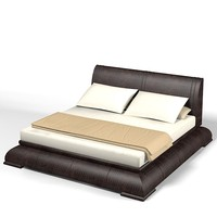 smania modern bed 3d max