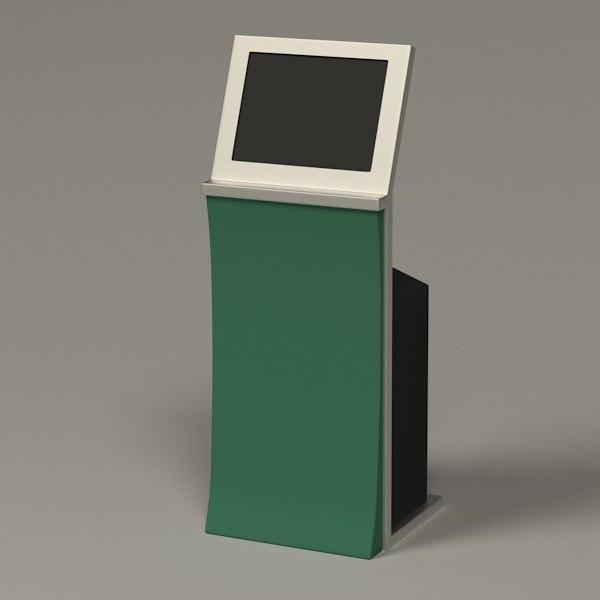 computer terminal 3d 3ds