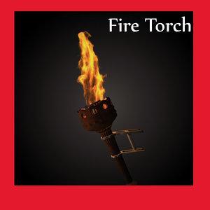 3d model torch vfx