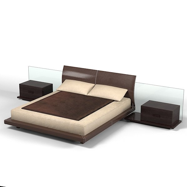 verardo bed bedroom 3ds
