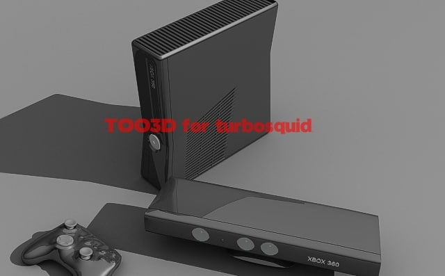 3d xbox 360 kinect model