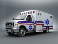 lwo 2011 e-450 emergency ambulance