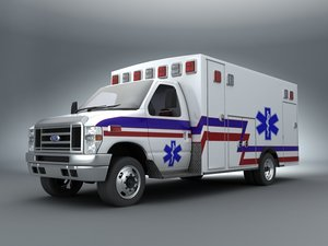 lwo 2011 e-450 emergency ambulance
