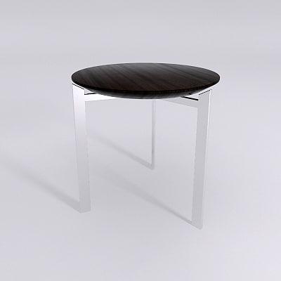table - materials 3d model