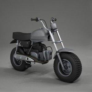 3dsmax small bike