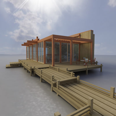 3d multi purpose building model