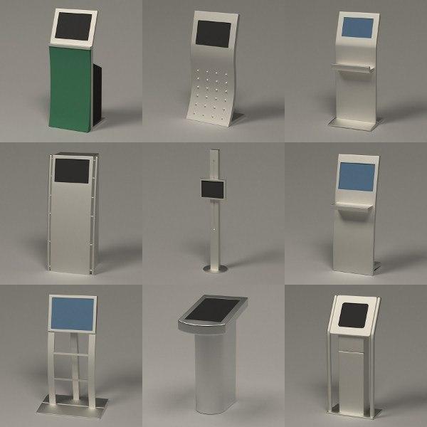 3d terminals computer model